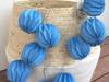 Lampki LED 10szt origami Girlanda świetlna granatowa