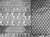 Dywan bawełniany 120 x 80 cm ciemno szary/ czarny