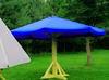 Sprzedam Parasol Ogrodowy Duży - 4m śr.niebieski. - miniaturka