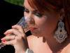 Biżuteria ślubna sutasz, kolczyki, bransoletka, grzebyk( cena do negocjacji !!!!!! ) - miniaturka