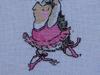 Urocze jeżyki, haft krzyżykowy, doskonały pomysł na prezent. - miniaturka