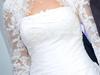 Wytworna i elegancka suknia Cosmobella 7414 + bolerko gratis rozmiar 36, ecru