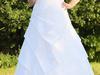 Suknia ślubna z bolerkiem rozm.42