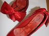 PIEKNA czolenka czerwone z kokarda jak Louboutin! - miniaturka