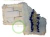 Mop trójskładnikowy kieszeniowy z tasiemką rzepową 50 cm