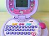Interaktywny edukacyjny różowy laptop dla dziecka LEAP FROG SaNdRa - miniaturka