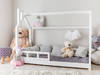 Nowe łóżko domek skandynawski 23 rozmiary + BARIERKI