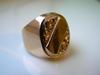 Złoty Pierścionek (sygnet męski) 8,37 gram; próba 583 -14 K - miniaturka
