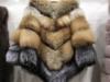 Piękne palto sweter z lisa rudego S-XL