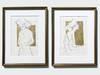 Złoty obraz, rysunek szkic do salonu do sypialni G. Klimt