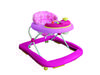 Różowy Super kolory krzesełko Chodzik dla dziecka jeździk