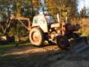 Koparko - Ładowarka Białoruś Jumz rolnicza