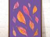 plakat 21x30, kolorowa ilustracja do pokoju, ładna grafika