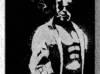 Hellboy - Obraz wykonany ręcznie metodą grawerowania...