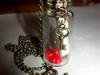 Wisiorek w butelce - love message [handmade] - miniaturka