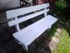 Ławka ogrodowa meble ogrodowe drewniane - miniaturka