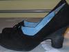 Marc Shoes czarne czółenka stabilny obcas roz. 41