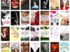 Dużo książek z różną tematyką :)