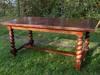 Stary dębowy stół, pochodzenie Francja