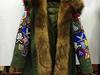 Zimowa damska puchowa kurtka  z jenotem naturalnym 11 S-L