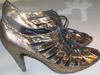 Fiore Collection złote botki szpilki rozmiar 39
