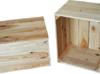 Skrzynia drewniana 50x40x30 skandynawska