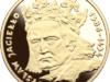 Piękna moneta:Władysław Jagiełło Ag platerowane Au