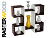 DESIGNERSKA Półka ścienna wisząca! PSEH3 - miniaturka