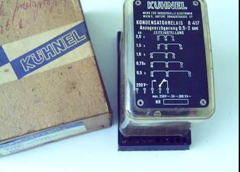 Czasowy przekaźnik 0,5 - 2 sek odporny na zakłócenia magnet.