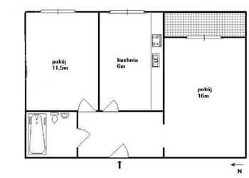 Dwa pokoje z widną kuchnią po remoncie. Bemowo/Jelonki