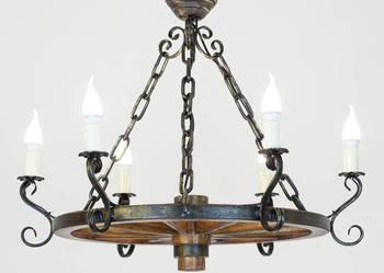 Jak wybrać odpowiednią lampę do altany? ŻYRANDOL Z KOŁA