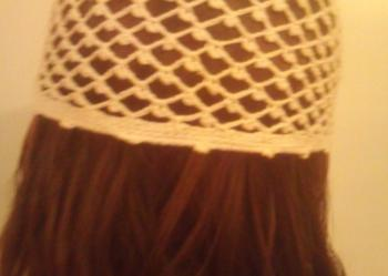 WYPRZEDAŻ ażurowa czapeczka dla nastolatki