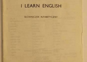 I LEARN ENGLISH SŁOWNICZEK ALFABETYCZNY