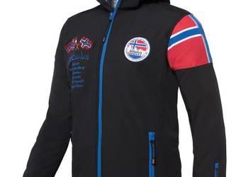 Kurtka narciarska ALPINE czarna męska marki NEBULUS