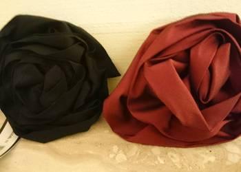 Nowe ozdoby broszki vissavi w kolorze bordowym i czarnym