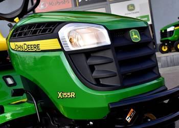 John Deere X155R nowy traktor ogrodowy z gwarancją 17KM