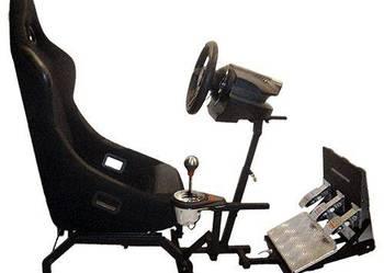 STOJAK do kierownic z regulowaną PLATFORMĄ pod własny fotel