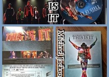 Michael Jackson's This Is It! (książka+DVD)
