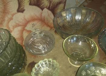 """Naczynia """"Kryształy"""" różnego rodzaju, komplet"""