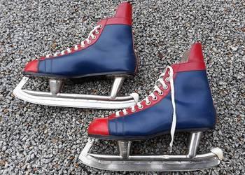 Stare łyżwy hokejowe Meteor