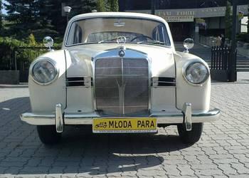 Zabytkowy Mercedes W120 z 1957 roku śluby-wolne terminy