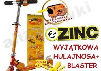 Zinc Attax Blaster Wyrzutnia Hulajnoga Dwukołowa