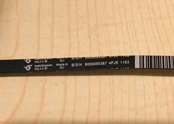 Pasek HUTCHINSON 1163 4PJE pralka Bosch Siemens Maxx 1234567