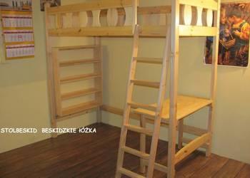 łóżko lozka piętrowe antresola z biurkiem, półką łóżka lozko na sprzedaż  Bielsko-Biała