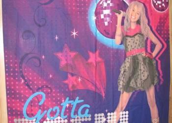 Zasłony dla Dzieci 140 x 160 Hannah Montana Gotta rock