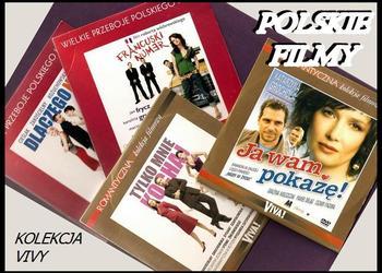 KOLEKCJA VIVY 4 filmy DVD TANIO