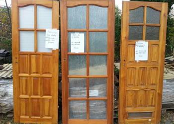 Drzwi drewniane 70 80 oraz łazienkowe