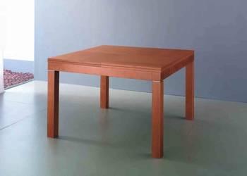 Stół rozkładany lite drewno - wenge NOWY