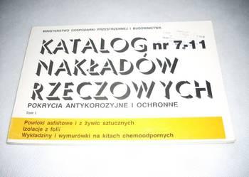 KNR 7-11 Pokrycia antykorozyjne i ochronne Tom I