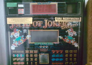 Szyba z automatu do gier